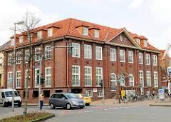 Ehem. Bankgebäude - Architektur der 1920er Jahre in Stade.