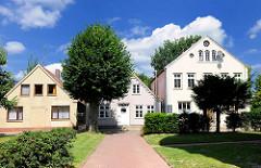 Gebäude  an der Kirchenstrasse von Barmstedt, Kreis Pinneberg.