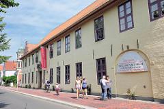 Brokdorff Palais am Fleth in Glückstadt / Unterelbe - 1630 / 31 erbaut; jetzt Detlefsen Museum