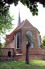 Peter Paul Kirche in Bad Oldesloe, erbaut 1763.©