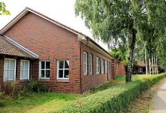 Gebäude Grundschule Bünningstedt, Gemeinde Ammersbek.