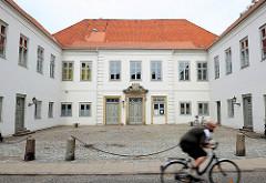 Das Wasmer Palais in Glückstadt / Unterelbe - barockes Stadtpalais; erbaut von 1700 - 1728.