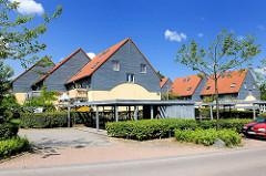 Reihenhäuser in Bad Oldesloe, Bickbüschen - moderne Architektur.