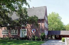 Gebäude Grundschule Am Reesenbüttel in Ahrensburg - Schleswig Holstein; Hamburger Metropolregion.