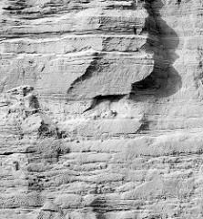 Sandformation - Kiesabbau in der Tangstedter Kiesgrube; Fotos aus der Gemeinde Tangstedt - Kreis Stormarn, Schleswig-Holstein.