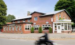 Restaurant, Cafe Alsterschleuse in Ehlersberg / Ortsteil in der Gemeinde Tangstedt, Kreis Stormarn;