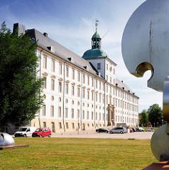 Gottorfer Schloss in der Stadt Schleswig.