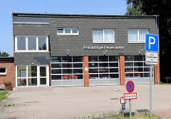 Gebäude der Freiwilligen Feuerwehr in Tangstedt, Kreis Stormarn.