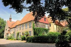 St. Johanniskloster in Schleswig - ehem. Benediktinerinnenkloster - mittelalterlicher Klosterkomplex - entstanden zwischen 1200 und 1230.