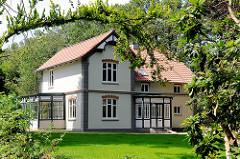 Försterhaus in Tangstedt, Kreis Stormarn.