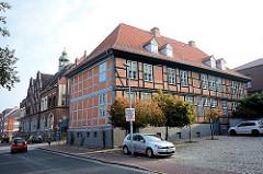 Historisches Fachwerkgebäude - Bilder aus Ratzeburg.