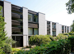 Moderne Architektur - Wohnhäuser in Harksheide / Norderstedt.