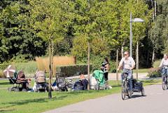 Sommertag im Stadtpark Norderstedt - Naherholung.