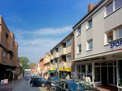 Geschäftshäuser - Wohnhäuser in Ratzeburg, Herrenstrasse.