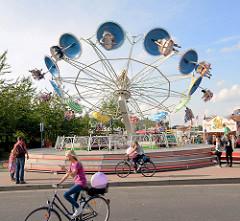 Stadtfest Norderstedt - Spektakulum; Karussell.
