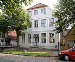 Historische Archtektur - Rathaus in Arnis, Lange Strasse.