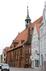 Heiligen Geist Kirche in der Hanstestadt Wismar - ehem. Spitalkirche des Heiligen-Geist-Hospitals; erbaut letztes Drittel des 14. Jahrhunderts.