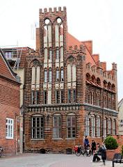 Archidiakonat Wismar - norddeutsche Backsteingotik - errichtet Mitte des 15. Jahrhunderts.
