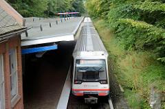 U-Bahnstation Schmalenbeck - Haltstelle der U 1 in der Gemeinde Großhansdorf.