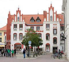Ratsapotheke Hansestadt Wismar - Marktplatz.
