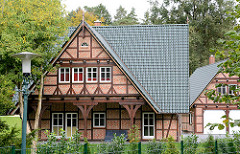 Fachwerkhaus Neubau - Fotos aus der Gemeinde Grosshansdorf / Schleswig Holstein.