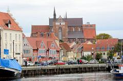 Alter Hafen der Hansestadt Wismar.