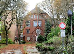 Gebäude ehem. Städtisches Krankenhaus der Hansestadt Wismar, Einweihung 1909.