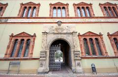 Fürstenhof in Wismar - Renaissance Architektur; Sitz des Amtsgerichts.