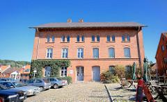Historische Gebäude der alten Stadtmühle, die erstmals 1278 urkundlich erwähnt wurde - das jetztige Gebäude wurde 1865 errichtet und war bis 1958 in Betrieb.