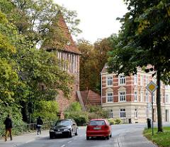 Alter Wasserturm der Hansestadt Wismar - ursprünglich Wehrturm der mittelalterlichen Befestigungsanlage.