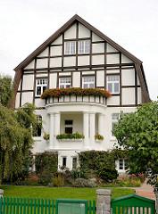 Villa im Heimatstil - Architektur der Hansestadt Wismar.