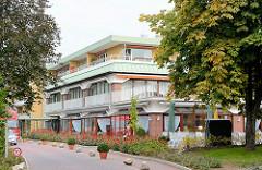 Seniorenwohnanlage Rosenhof in der Gemeinde Grosshansdorf - Kreis Stormarn, Schleswig-Holstein.