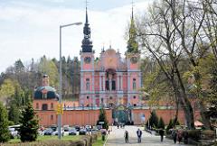 Barockarchitektur - Marien Wallfahrtskirche Święta Lipka, Heiligelinde - Polen.