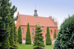 Corpus Christi Kirche in Pelplin, Polen -  Backsteingotik.