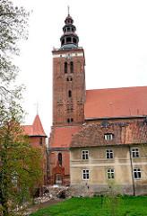 Kirche St. Peter und Paul in Lidzbark Warmiński / Heilsberg.