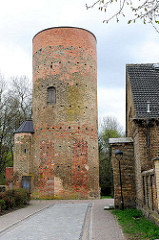 Pulverturm in Anklam - Teil der ehem. Stadtbefestigung, erbaut um 1450.