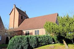 Katholische Kirche St. Johannes der Täufer am Kalkberg in Bad Segeberg.