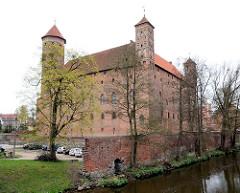 Burg Heilsberg in Lidzbark Warmiński - erbaut von 1350 - 1401; Ordensburg des Deutschen Ordens.