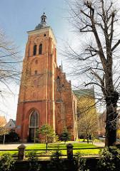 Kirche des hl. Jakob in Danzig erbaut im 17. Jahrhundert;