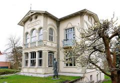 Villa Irmgard, Maxim Gorki Museum - Heimatmuseum, Gedenkstätte für den russischen Schriftsteller Maxim Gorki - Ostseebad Heringsdorf, Insel Usedom.