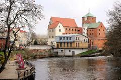 Schloss der pommerschen Herzöge, Rügenwalder Schloss an der Wipper in Darłowo / Rügenwalde, Polen.