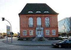 Altes Rathaus von Bad Segeberg - Architektur des Biedermeier.