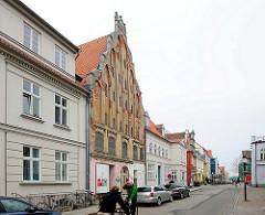 Architekturbilder - Stadtansicht der Hansestadt Greifswald.