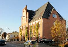 Gebäude des ehem. Amtsgerichts in Bad Segeberg, Hamburger Strasse - Backsteinarchitektur,