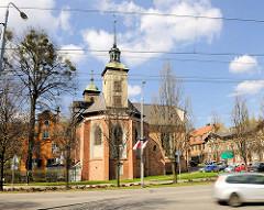 Sehenswürdigkeiten in Danzig - historische Architektur; Kirchengebäude.