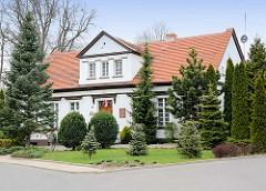 Historisches Gebäude in Pelplin, Polen.