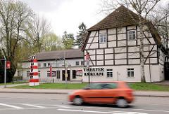 Gebäude der Vorpommerschen Landesbühne Anklam.