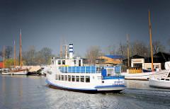 Greifswalder Ausflugsschiff Stubnitz - das Fahrgastschiff wurde 1910 auf der Oderwerft Stettin gebaut