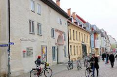 Historische Architektur der Hansestadt Greifswald - ehem. Kirche des Heilig Geist Hospitals; erbaut 1290 als zweischiffiger Hallenbau.