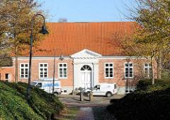 Historisches  Gebäude vom alten Katsteramt in Bad Segeberg -